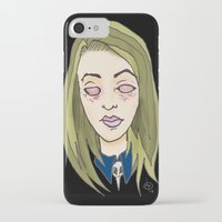coven iPhone & iPod Cases featuring Blinded For The Coven by Dan Paul Roberts