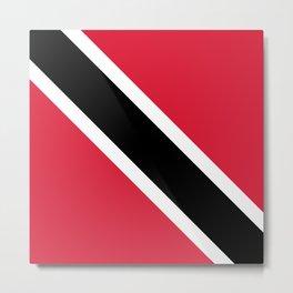 Trinidad & Tobago Flag Metal Print