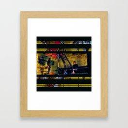 Golden As We Once Were Framed Art Print