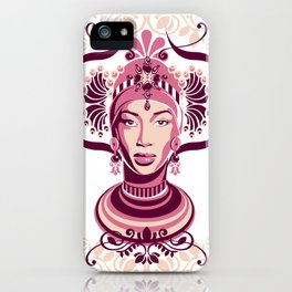 Aminata iPhone Case