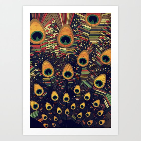 visual melody 3 Art Print