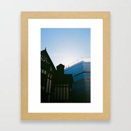London workers Framed Art Print
