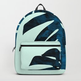 Composition tropical leaves I Backpack