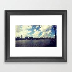 River thames Framed Art Print
