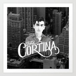 Alex Turner Ford Cortina Art Print