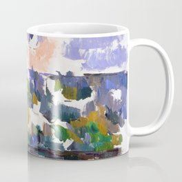 1906 - Paul Cezanne - The Garden at Les Lauves Coffee Mug