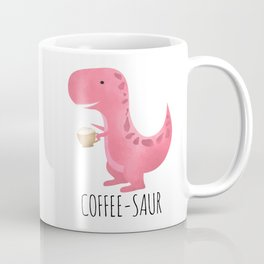 Coffee-saur | Pink Coffee Mug