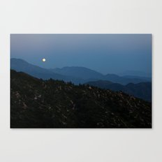 Rising of the Full Moon III (California) Canvas Print