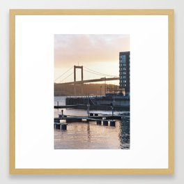 The coast is clear Framed Art Print