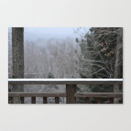 Last Snow Canvas Print