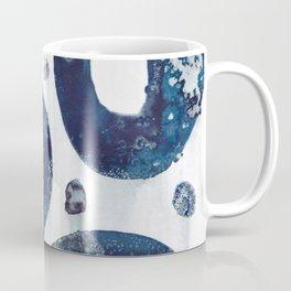 Going around in blue circles. Coffee Mug