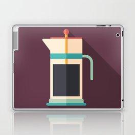 French Press Coffee Laptop & iPad Skin