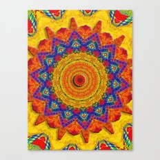 Fiesta Mosaic Canvas Print
