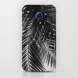 Tropical Vibes | Black and White iPhone Case