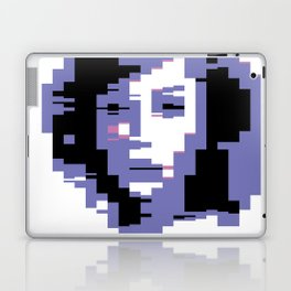 8 Bit Portrait of a Girl Laptop & iPad Skin