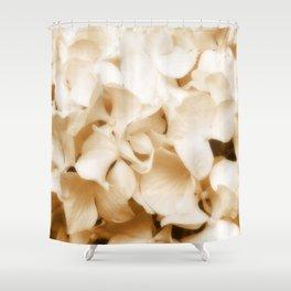 Nostalgic Hydrangea Floral Shower Curtain