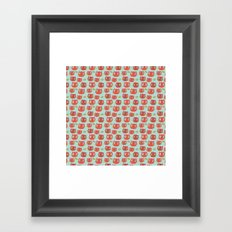 Pattern Project #32 / WTF Cats Framed Art Print