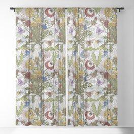 Dandelion Sheer Curtain