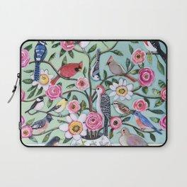 Bird Vines Laptop Sleeve