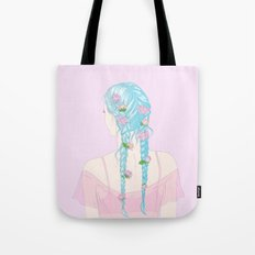 flower braids Tote Bag