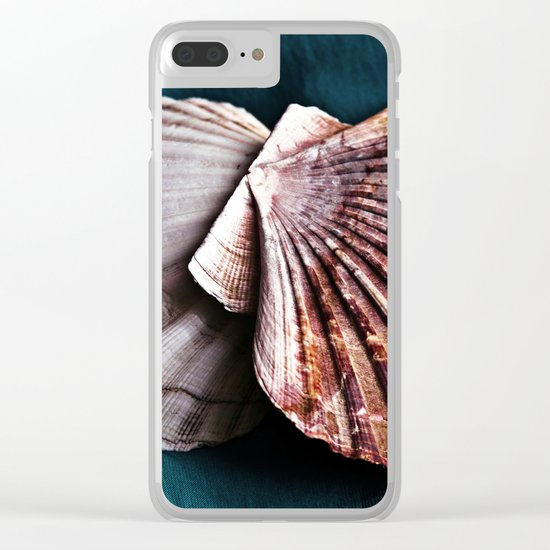YOU and ME in Structures of Harmony Clear iPhone Case