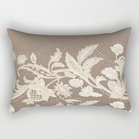 old lace border Rectangular Pillow