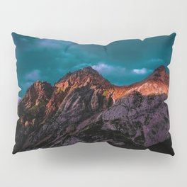 The Volcano Mountain (Color) Pillow Sham
