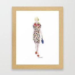 Moschino Cheap & Chic AW 2012  Framed Art Print