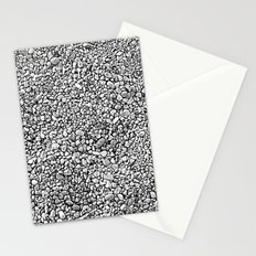 Black & White Rocks Stationery Cards