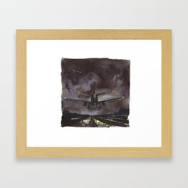 There Is No destination; You Just Keep On Going Framed Art Print