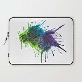 Fish - Blues and Greens Laptop Sleeve