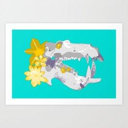 A Powerful Bite Art Print