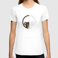 half life T-shirts featuring HALF (monkey) LIFE by Nillustra™