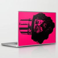 literature Laptop & iPad Skins featuring Outlaws of Literature (Allen Ginsberg) by Silvio Ledbetter