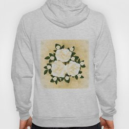 Abstract roses background Hoody