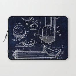 Ice Cream Scoop Blueprint Laptop Sleeve