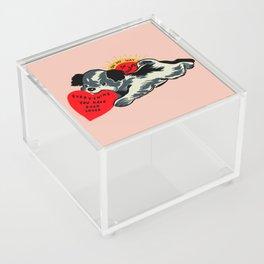 On My Way Acrylic Box