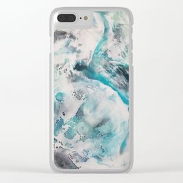 a bird's view Clear iPhone Case