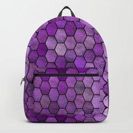 Glitter Tiles ১ Backpack