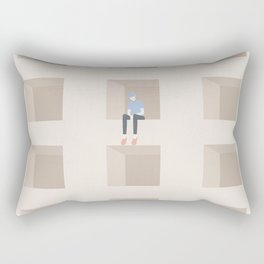 worry v.2 Rectangular Pillow