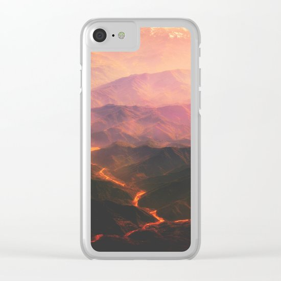 Volcano active Clear iPhone Case