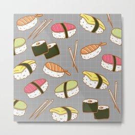 Sushi lover Metal Print