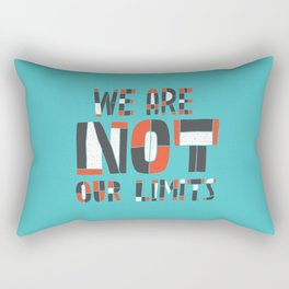 No Limit Rectangular Pillow