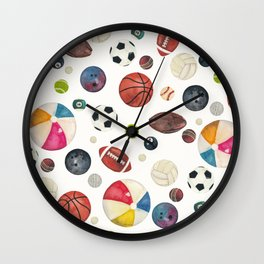 Sports fever Wall Clock