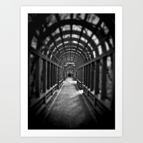 Beyond the Gate... Art Print