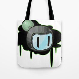 The Green Bomber  Tote Bag