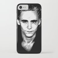 tom hiddleston iPhone & iPod Cases featuring Loki (Tom Hiddleston) by Olive in Pinkland
