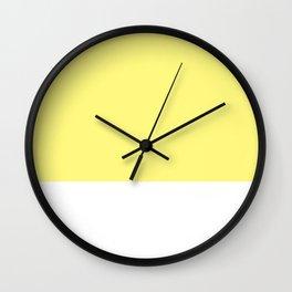 Yellow top Wall Clock