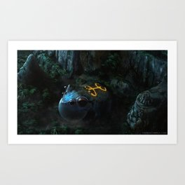 We long for the son that has become our lullaby Art Print