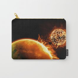 sun collision Carry-All Pouch